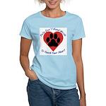 Touch Your Heart Women's Light T-Shirt