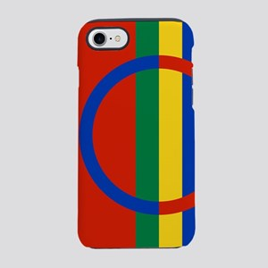 Scandinavia Sami Flag iPhone 8/7 Tough Case