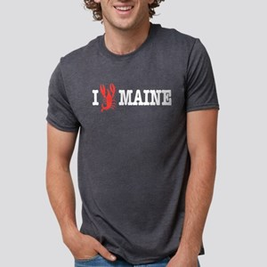 I Love Maine Women's Dark T-Shirt