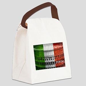 ROMA ITALIA COLISEUM Canvas Lunch Bag