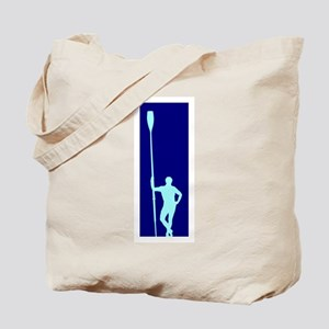READY TO ROW BLUE LIGHT BLUE Tote Bag