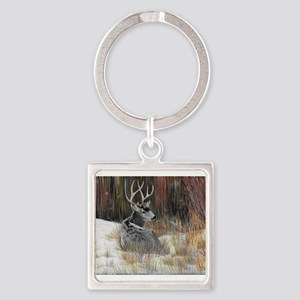 Winter Buck Keychains