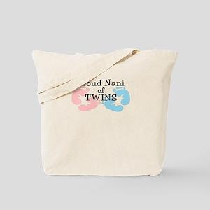 New Nani Twins Girl Boy Tote Bag