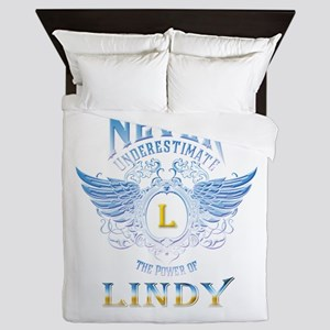 Never underestimate the power of Lindy Queen Duvet
