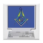 Internet Masons Tile Coaster