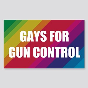 Gays For Gun Control Sticker