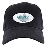 Catholic and Christian (Teal) Black Cap