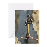 Flowers by God Photos by Davi Greeting Cards (Pk o