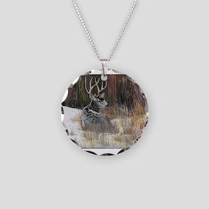 Winter Buck Necklace