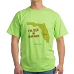 I'm BIG in Mypance Green T-Shirt