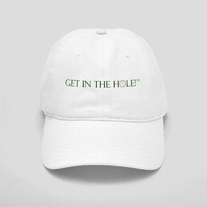 *Classic* GET IN THE HOLE! GOLF CAP (Green) L