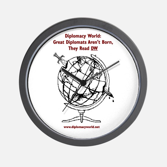 Great Diplomats Aren't Born Wall Clock
