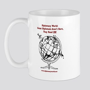 Great Diplomats Aren't Born Mug