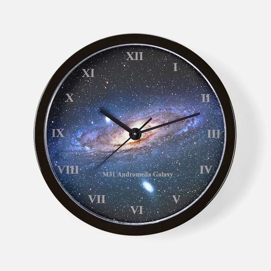 Andromeda Galaxy Wall Clock