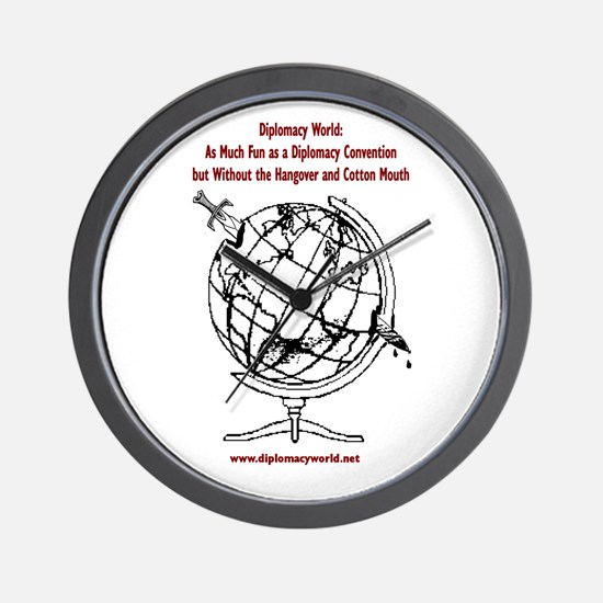 Diplomacy Convention Wall Clock