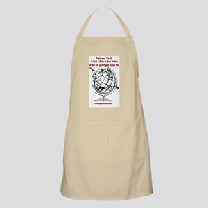 Knife in Your Pocket BBQ Apron
