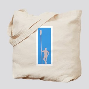 READY TO ROW BLUE GRAY Tote Bag