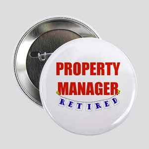 "Retired Property Manager 2.25"" Button"