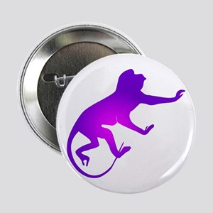 Tie Die Purple Monkey Button
