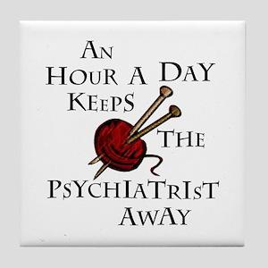 An Hour A Day... Tile Coaster