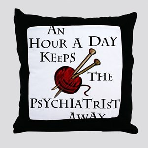 An Hour A Day... Throw Pillow