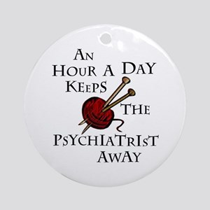 An Hour A Day... Ornament (Round)