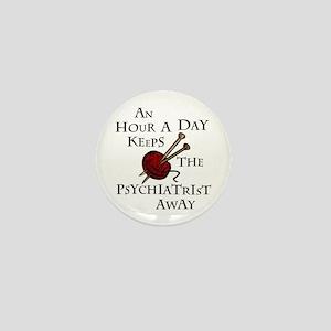 An Hour A Day... Mini Button