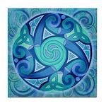 Celtic Planet Tile Coaster