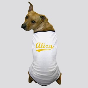 Vintage Aliza (Orange) Dog T-Shirt
