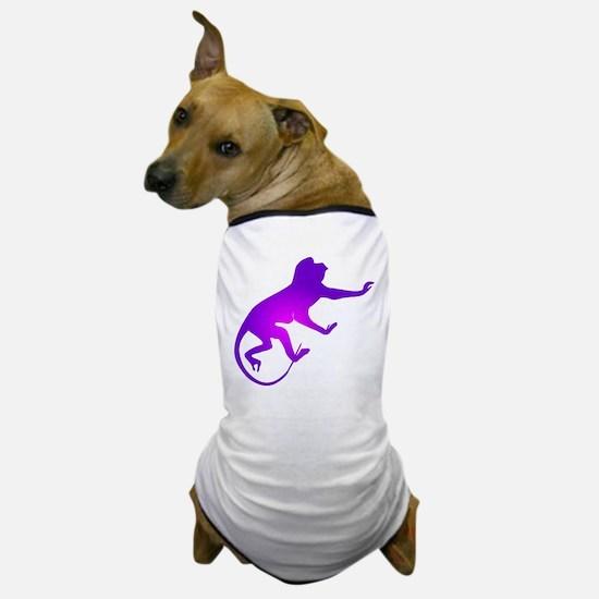 Tie Die Purple Monkey Dog T-Shirt