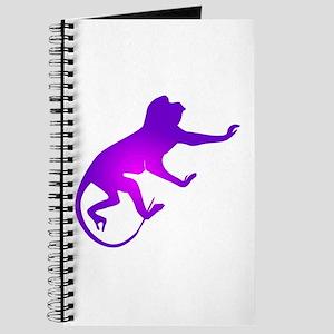 Tie Die Purple Monkey Journal