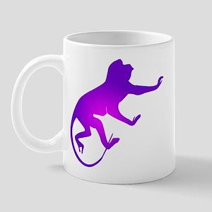 Tie Die Purple Monkey Mug