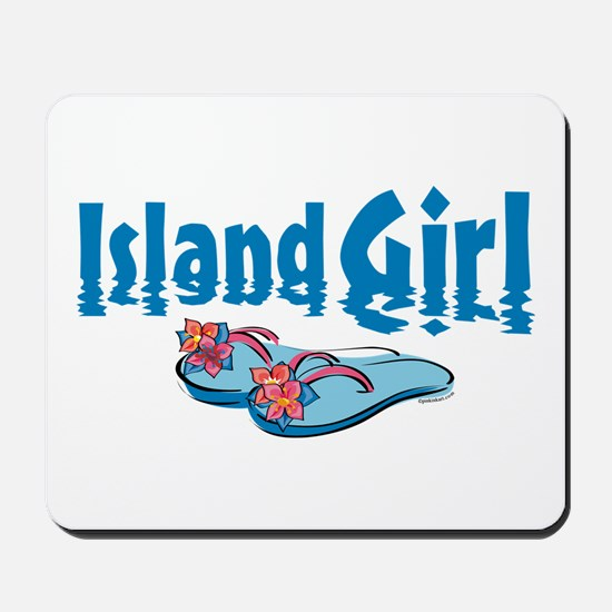 Island Girl 2 Mousepad