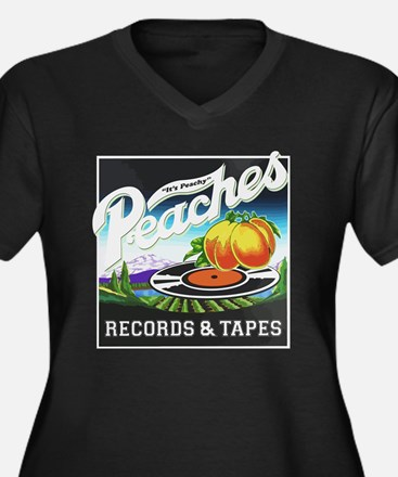 Peaches Records and Tapes logo Plus Size T-Shirt