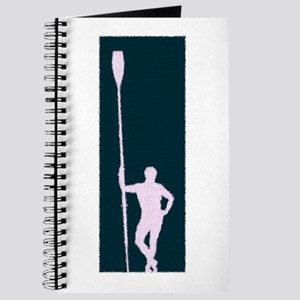 READY TO ROW PURPLE LILAC PAINTED Journal