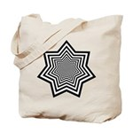 Animated Stars Tote Bag