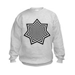 Animated Stars Kids Sweatshirt
