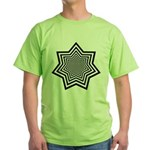 Animated Stars Green T-Shirt