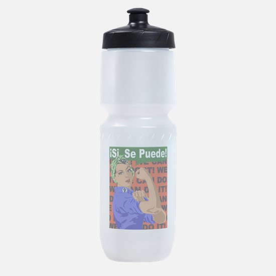 Unique Rosie the riveter we can do it Sports Bottle