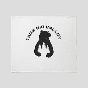 Taos Ski Valley - Taos - New Mexic Throw Blanket