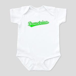 Retro Demetrius (Green) Infant Bodysuit