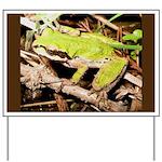 Pacific Treefrog Yard Sign