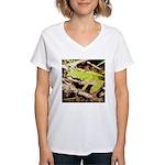 Pacific Treefrog Women's V-Neck T-Shirt