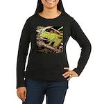 Pacific Treefrog Women's Long Sleeve Dark T-Shirt