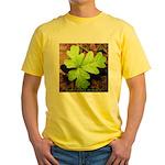 Poison Oak Yellow T-Shirt