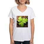 Poison Oak Women's V-Neck T-Shirt