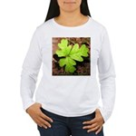 Poison Oak Women's Long Sleeve T-Shirt