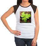 Poison Oak Women's Cap Sleeve T-Shirt