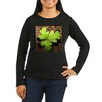 Poison Oak Women's Long Sleeve Dark T-Shirt