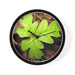 Poison Oak Wall Clock